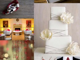 red-grey-wedding